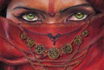 Mistério do olhar <•>