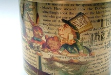 COLLECTIONS: Down the rabbit hole ... / I collect vintage Alice in Wonderland books - a board dedicated to my favourite book