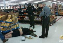 meanwhile at walmart..... / by Cat Paulsen