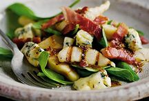 FOOD -Salads & dressings / by Heidi Smith