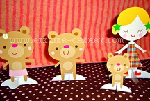 Theme~Goldilocks and the three bears