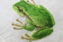 Needlework Frogs, Lizards and Turtles / by Elisabeth Ames