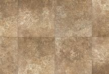 Accord by Verve / Red Body Ceramic Tile Available in 13x13, 17x17, & 13x17 with Trim, Mosaic & Triangle Decos Available