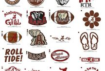 Alabama embroidery fonts