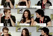 The Vampire Diaries //Cast//Funny Moments//Everything xD <3