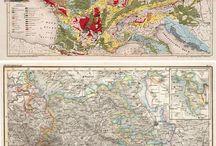 Винтажные карты Vintage Maps