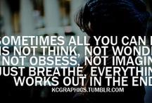 quotes / by Amanda Cassista-Clarke