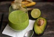 zöld italok