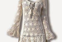 vestido croche branco