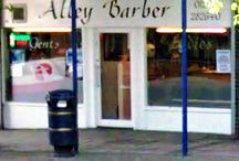 Beau Locks Barbers / Punning hairdresser and other shop names