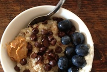 Healthy eating / healthy blueberries