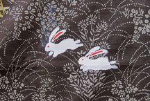 Japanese fabric & paper pattern