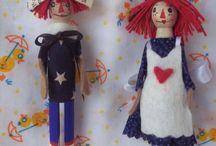 Peg Dolls / by Jessica Radke