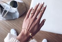 Tips for Nailing the Perfect Manicure / Whether you're a nail art aficionado or you prefer acrylic nails, we've got the low down on the nail polish trends and best manicures.