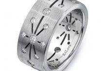 Unique Men's Wedding Bands / by Unique Engagement Rings - Rings4love.com
