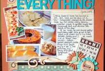 Scrapbook ideas / by Tracy Mackie