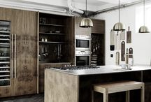 Rustic kitchens | Cuisines rustiques