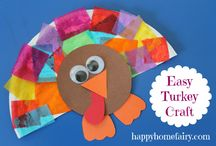 Thanksgiving / Fun for the kids and the house.  / by Tiffany Howell