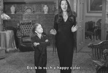 Black is such a happy color / Black is such a happy color , www.fashion-crossing.com