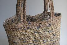 plastic bag crafts / by Idania crochet items