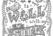 Christian Coloring Pages / by Beverly Wolf