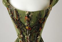 18th century Corsets,bodice and stays