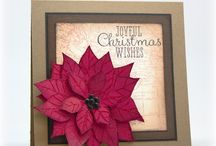 Poinsettia Cards / by Marilyn Atencio