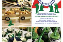 Army themed birthday party / by Carla Matthee