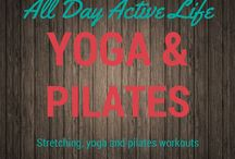 Workouts: Yoga, Pilates & Stretching / Stretching, pilates and yoga workouts and routines to keep you tones, focused and in shape.