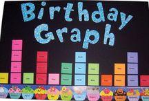 classbirthday calendar