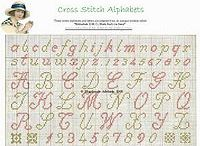 cross stitch alphabeth