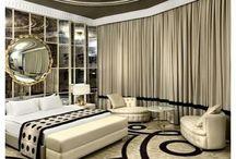 elegant bedroom decor inspiration / Bedroom