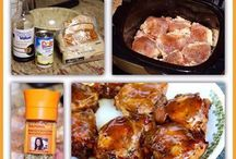 Slow cooker receipes