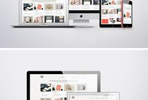 Mockup graphic / Mockup graphic design and web
