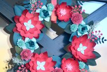 Wreath Inspiration - Cricut