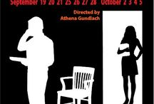 Oleanna / By David Mamet - Sep 19 - Oct 5 2014 at Raven Theater Windsor A searing examination of sexual politics and political correctness. A Raven Players production. www.raventheater.org / by Raven Performing Arts Theater