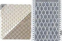 mønsterark strikkemaskin