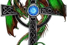 Celtic dragon