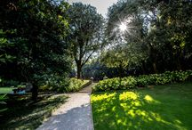 Private Park & Garden / The Villa Feltrinelli's private park and garden where to relax and enjoy the landscape