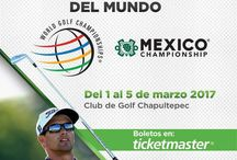 2017 World Golf Championships - Mexico Championship | Ocean Blue Magazine / The 2017 World Golf Championship marked its inaugural year at Club de Golf Chapultepec March 1st - 5th! Mexico is now part of the present and future of World Golf & Ocean Blue Magazine was excited to be a part of it!