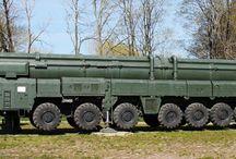 SS-25 Sickle / Передвижной грунтовый ракетный комплекс Тополь