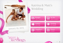 Free iPad Wedding Planner - EW Planning App / Download the free iPad wedding app.  The EW planning app has planning tools you can use to easily plan your perfect wedding. / by EasyWeddings Aust