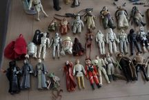 Collection personnelle Star Wars / Jouets, jeux, magazines et produits dérivés, voici une partie de ma collection STAR WARS !