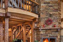 Timber frame and log homes