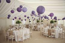 Lilac Wedding Inspiration / Lilac wedding colour scheme