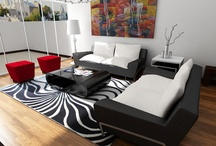 sala blanco y negro