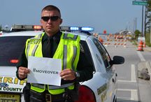 Move Over / During #NationalPoliceWeek the Walton County Sheriff's Office worked to remind motorists to #MoveOver when Law Enforcement, Fire, EMT, Tow-trucks, or Utilities Trucks are on the side of the road. If you cannot move over you should slow down to 20 miles per hour under the posted speed limit. It's not just the law. It may save someone's life.