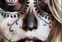 dead facepaintings