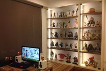 Interior Design for Toy Collectors / Research for Toy, Figures, Collectible Display at Home / by Meng Fei Wong