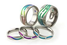 Titanium Wedding rings / Titanium wedding rings for men and women handmade in the UK. Titanium is strong lightweight and hypoallergenic making it a perfect metal for jewellery. www.ti2titanium.com